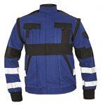 MAX REFLEX munkakabát kék/fekete szín