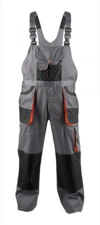 FF CARL kantáros nadrág szürke színű