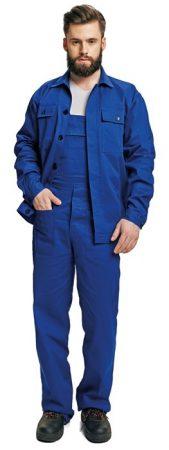 FF RALF kabát + kantáros nadrág kék színű