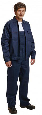FF RALF kabát + kantáros nadrág sötétkék színű